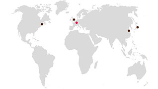 GMG Locations Map